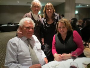 Photo of Jess Blyth and Sue Hastie (Left to Right standing) and Daivid Blyth and Robyn Gaile (Left to Right sitting)