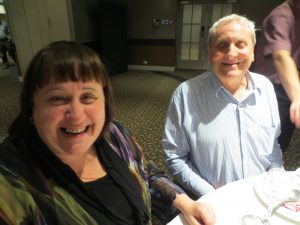 Maryanne Diamond and Frank Nowlan